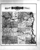 Houston County Map, Houston County 1878