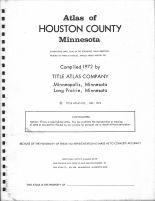 Title Page, Houston County 1972