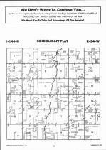 Schoolcraft T144N-R34W, Hubbard County 1992 Published by Farm and Home Publishers, LTD