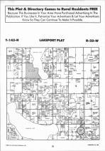 Lakeport T143N-R32W, Hubbard County 1992 Published by Farm and Home Publishers, LTD