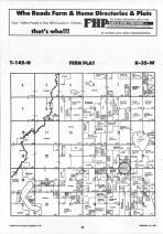 Fern T145N-R35W, Hubbard County 1992 Published by Farm and Home Publishers, LTD