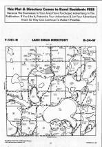 Lake Emma T141N-R34W, Hubbard County 1992 Published by Farm and Home Publishers, LTD