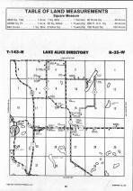 Lake Alice T143N-R35W, Hubbard County 1992 Published by Farm and Home Publishers, LTD