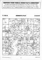 Henrietta T140N-R34W, Hubbard County 1992 Published by Farm and Home Publishers, LTD