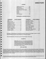 Directory Index, Explanation, Jackson County 1990