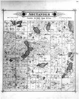 Arctander Township, Norway Lake PO, West Lake PO, Kandiyohi County 1886