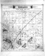Edwards Township, Croydon PO, Kandiyohi County 1886
