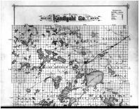 Kandiyohi County Map - Above, Kandiyohi County 1886