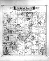 Norway Lake Township, Sunburgh PO, Evens Lake, Kandiyohi County 1886