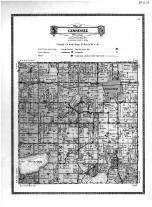 Gennessee  Township, Atwater, Lake Minnetoga, Kandiyohi County 1915