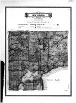 New London Township, Green Lake Beach, Echo Beach, Kandiyohi County 1915