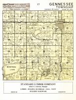 Gennessee Township, Kandiyohi County 1958