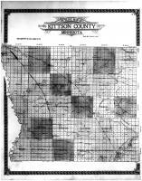 Kittson County Outline Map, Kittson County 1912
