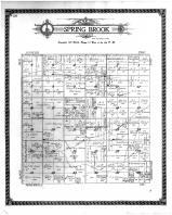 Spring Brook Township, Bridgeport PO, Kittson County 1912