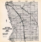 County Map 1, Kittson County 1952