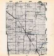 County Map 2, Kittson County 1952