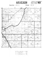 Arveson Township, Kittson County 1959