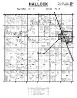 Hallock Township, Kittson County 1959