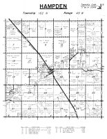 Hampden Township, Kittson County 1959