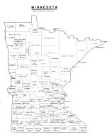 State Map, Kittson County 1959