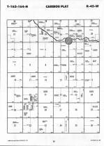 Map Image 013, Kittson County 1992