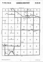 Map Image 015, Kittson County 1992