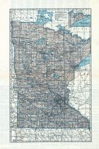 State Map, Lac Qui Parle County 1929