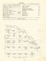 County Map, Lac Qui Parle County 1962