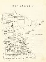 State Map, Lac Qui Parle County 1962