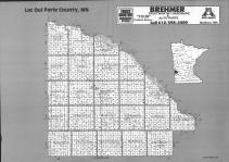 Index Map, Lac Qui Parle County 1992