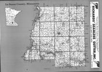 Index Map, Le Sueur County 1992