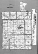 Index Map, Lyon County 1992
