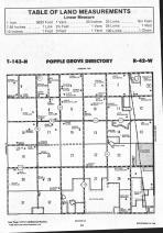 Popple Grove T143N-R42W, Mahnomen County 1992 Published by Farm and Home Publishers, LTD