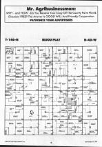 Bejou T146N-R42W, Mahnomen County 1992 Published by Farm and Home Publishers, LTD
