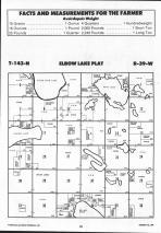 Little Elbow Lake T143N-R39W, Mahnomen County 1992 Published by Farm and Home Publishers, LTD