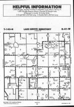 Lake Grove T143N-R41W, Mahnomen County 1992 Published by Farm and Home Publishers, LTD