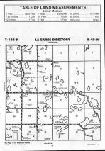 La Garde T144N-R40W, Mahnomen County 1992 Published by Farm and Home Publishers, LTD