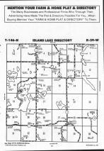 Island Lake T146N-R39W, Mahnomen County 1992 Published by Farm and Home Publishers, LTD