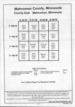 Table of Contents, Mahnomen County 1992 Published by Farm and Home Publishers, LTD