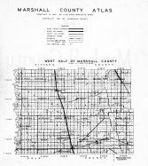 Marshall County Map, Marshall County 1941
