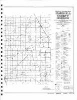County Map 2, Marshall County 1982