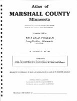 Title Page, Marshall County 1982