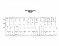 Marshall County - Index Map, Marshall and Northwest Beltrami Counties 1994