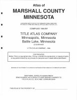 Marshall County - Title Page, Marshall and Northwest Beltrami Counties 1994