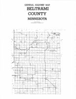Northwest Beltrami County - County Map, Marshall and Northwest Beltrami Counties 1994