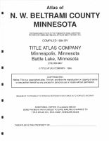 Northwest Beltrami County - Title Page, Marshall and Northwest Beltrami Counties 1994