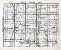 Martin County Map, Martin County 1940c