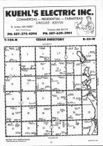 Map Image 011, Martin County 1992
