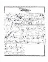 County Outline Map, McLeod County 1898