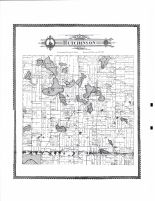 Hutchinson Township, Lake Todd, Lake Hook, Echo Lake, McLeod County 1898